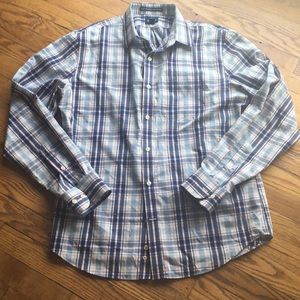 Men's old navy button up size L